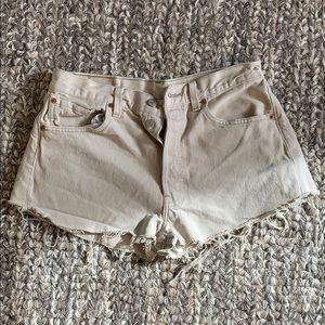 Levi's Vintage Jeans Shorts | Beige